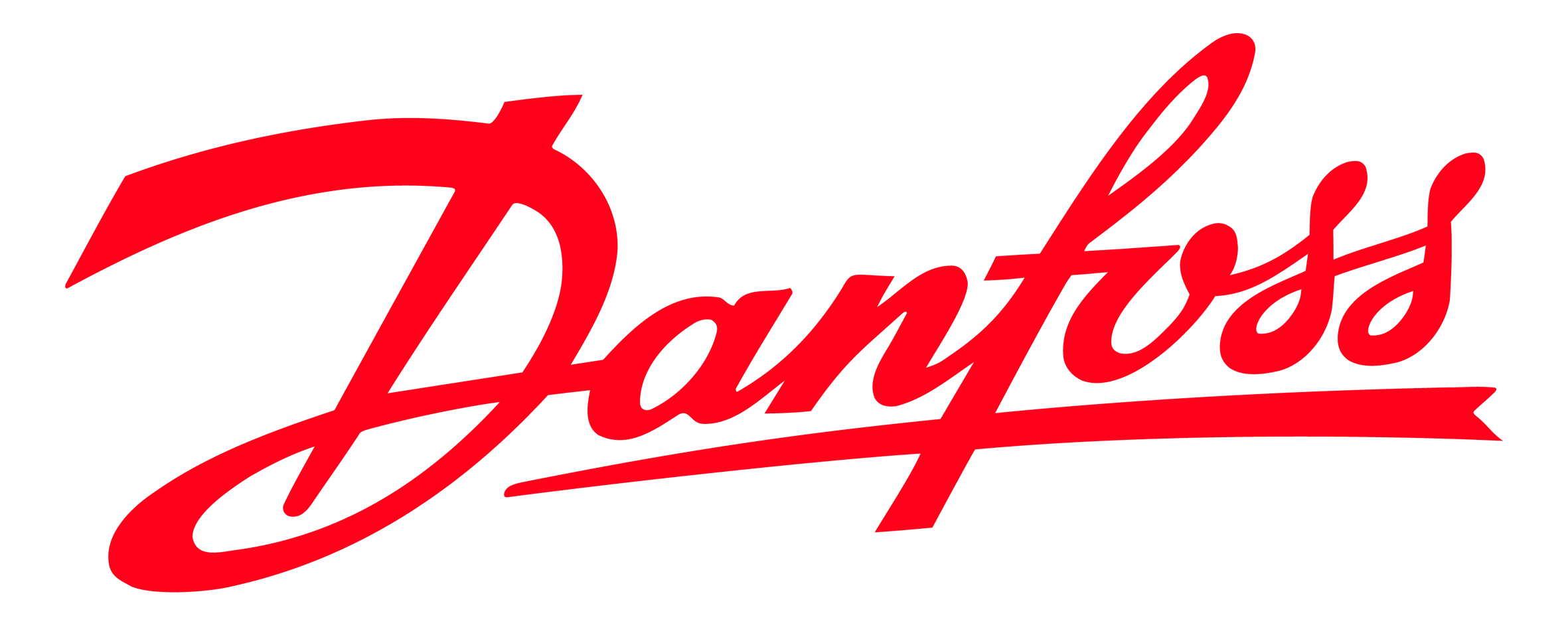 Logo firmy Danfoss.