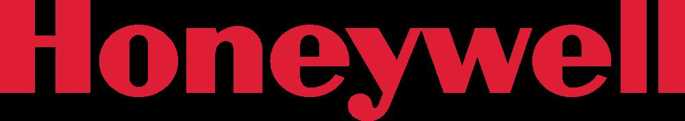 Logo firmy Honeywell.