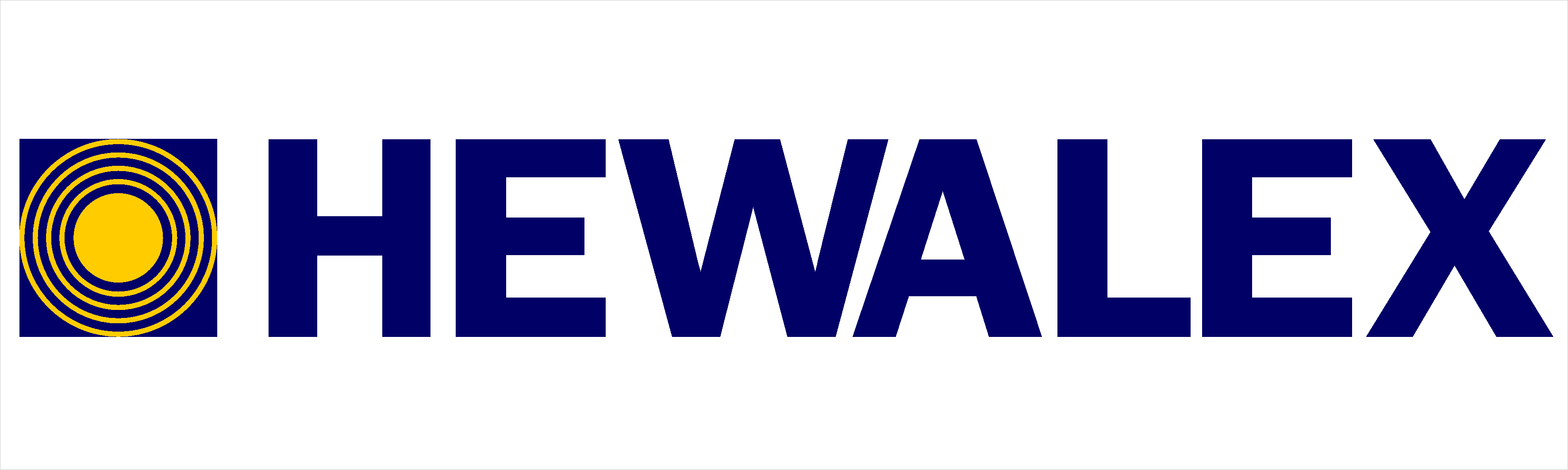 Logo firmy Hewalex.