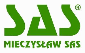 Logo firmy SAS.