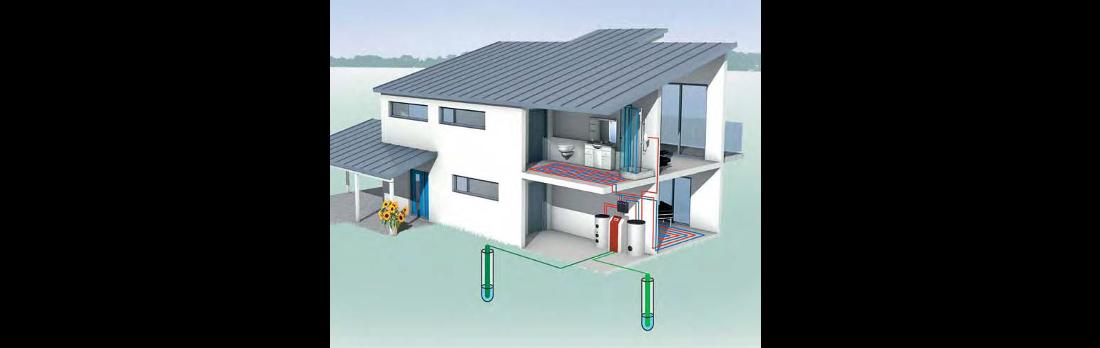 Schemat instalacji woda/woda.